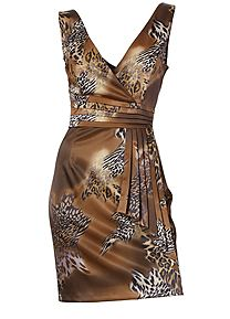 Heine Animal Print Dress 095278 Wonderful Weekendwear; pretty in prints