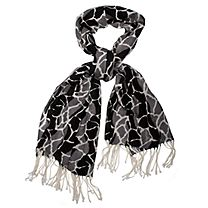 Kaliko Pebble Print Scarf 34X107 Wonderful Weekendwear; pretty in prints