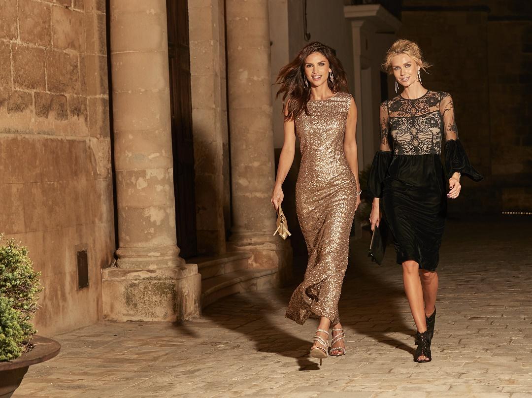 e6de9fe4efd3 Occasion Dresses. Kaleidoscope - Sequin Beaded Long Evening Dress