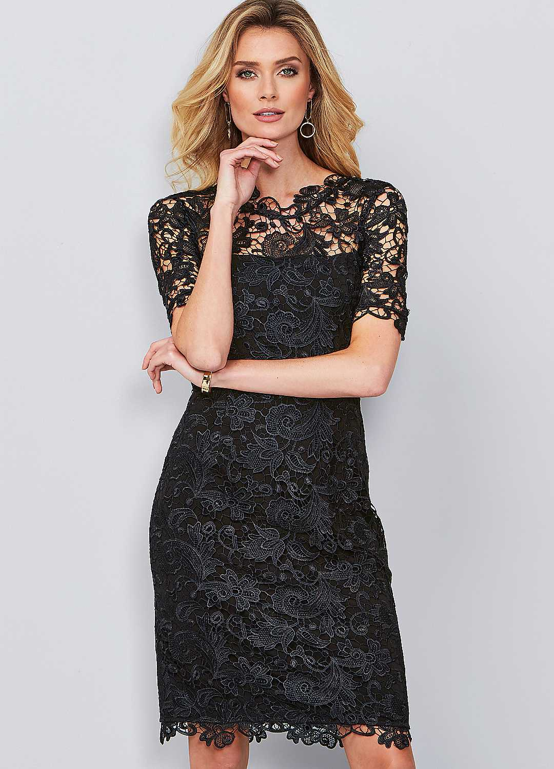 699eff472703 The classic little black dress is a staple for looking sophisticated at  formal occasions. Whilst the colour black isn't a strict colour code for  womenswear, ...