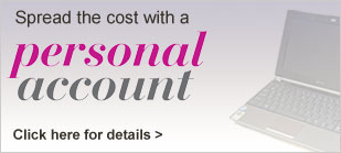 Spread the cost with a Personal Account