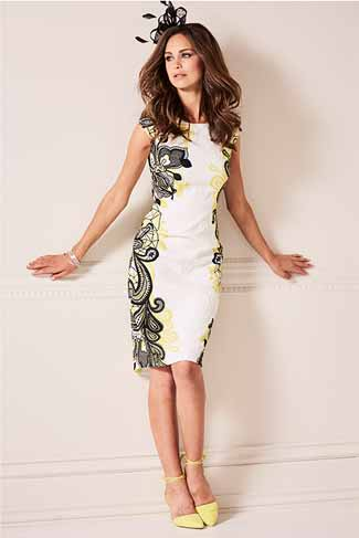 Wedding guest style guide outfit ideas kaleidoscope for Black and white dress for wedding guest